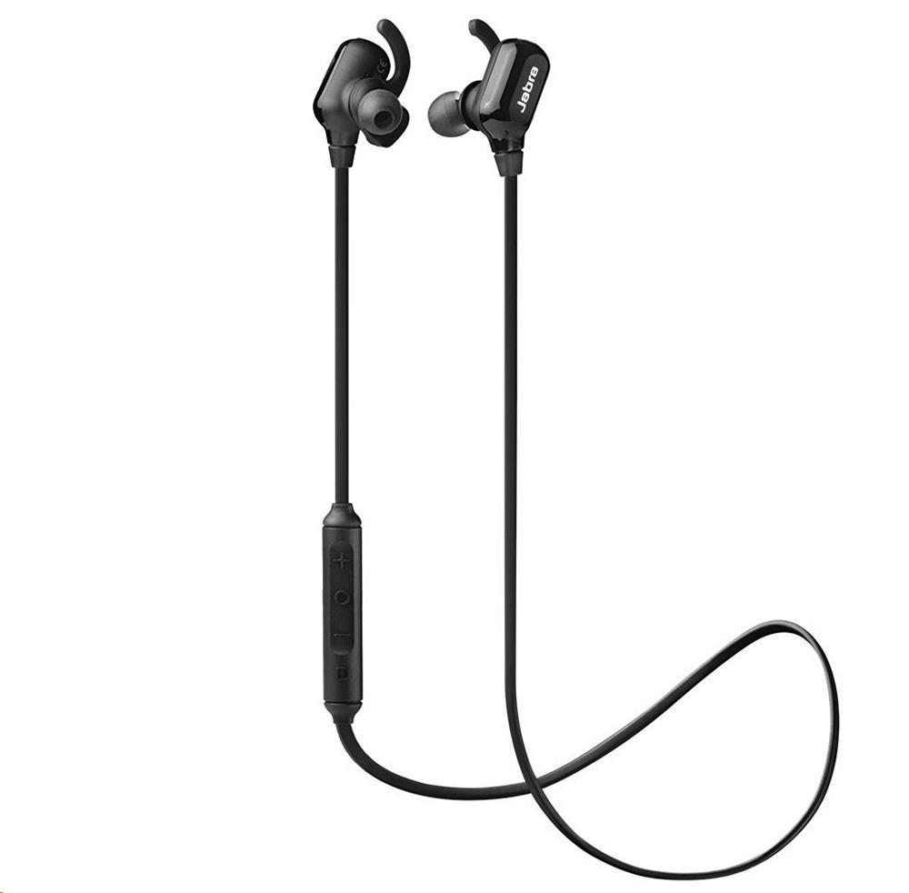 New Jabra Halo Wireless Bluetooth Headset Black