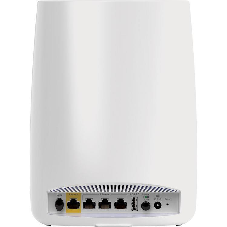 Netgear Orbi Rbk50 Ac3000 Tri Band Wifi System Rbk50