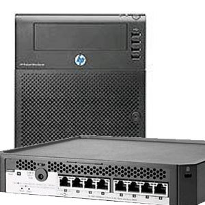 hp proliant n54l microserver nas hp ps1810 8g 8p managed switch 712969 375 j9833a. Black Bedroom Furniture Sets. Home Design Ideas