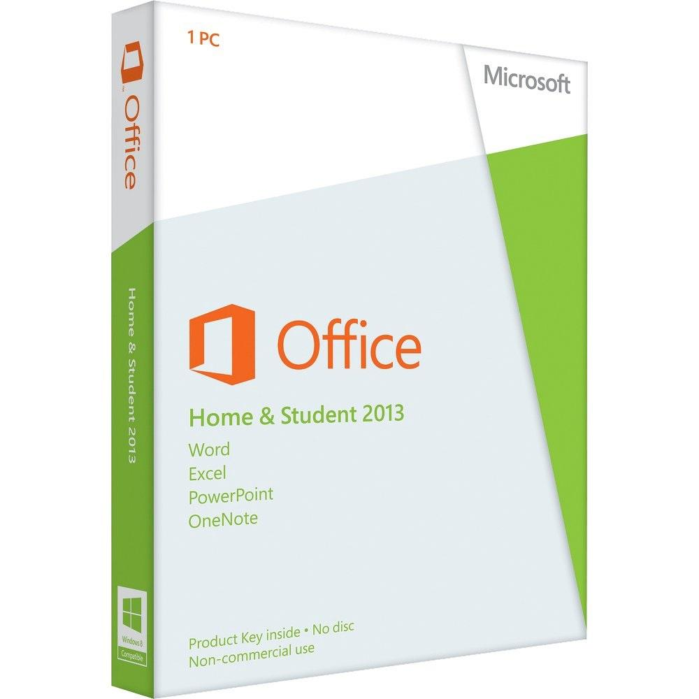 Microsoft Office Home & Student 2013 Retail