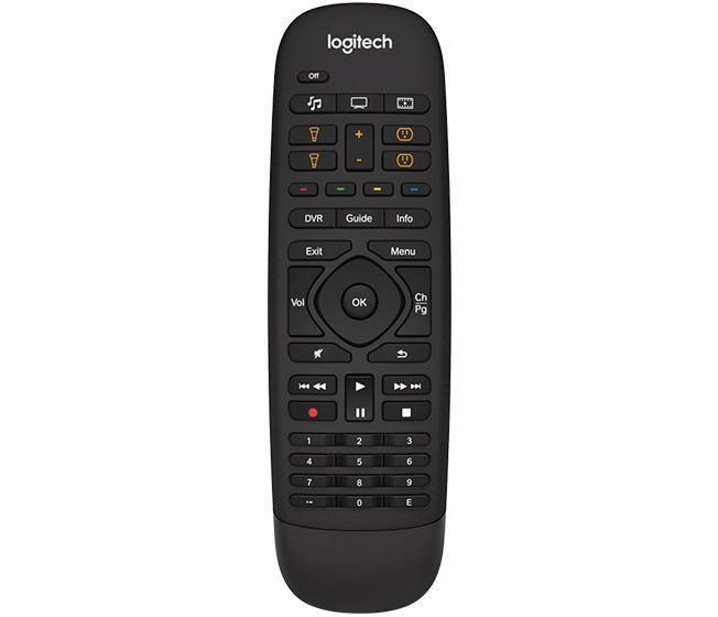 how to use logitech remote control