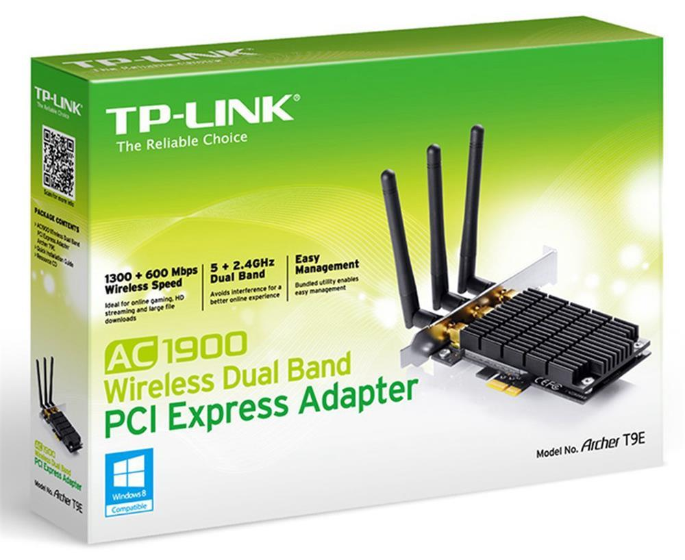 Tp Link Archer T9e Ac1900 Dual Band Pci E Adapter Archert9e Tg 3468 Gigabit Express Network