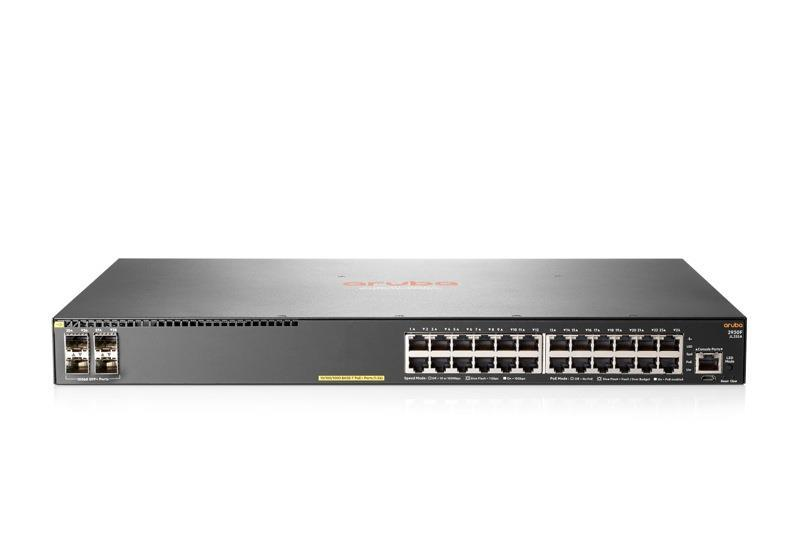 Hp Aruba 2930f 24g Poe 4 Sfp Managed Switch Jl255a