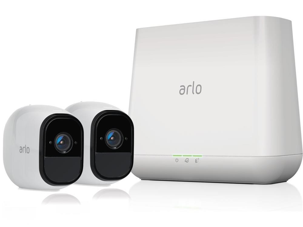 netgear vms4230 arlo pro security system 2 cameras vms4230. Black Bedroom Furniture Sets. Home Design Ideas