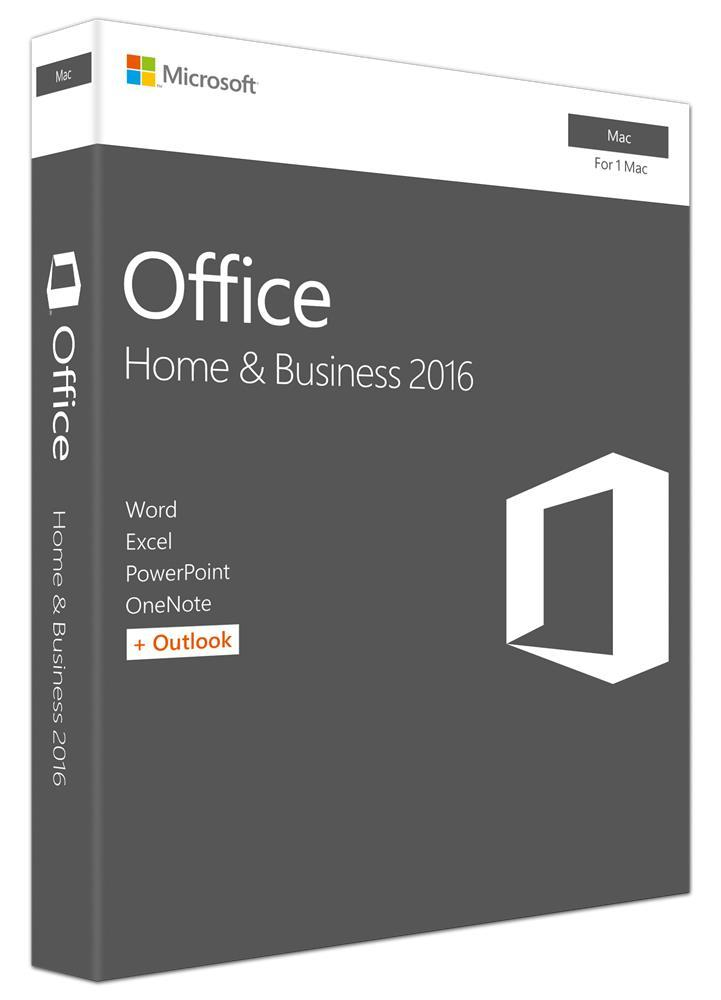 Microsoft Office Mac Home & Business 2016 Retail