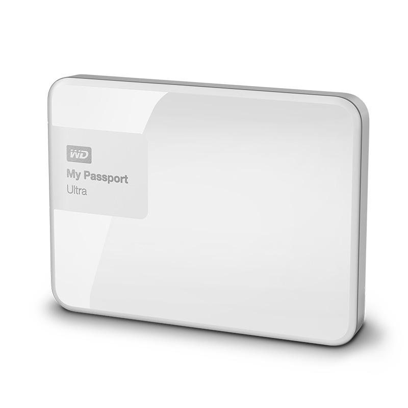 WD My Passport Ultra 1TB portable drive - White