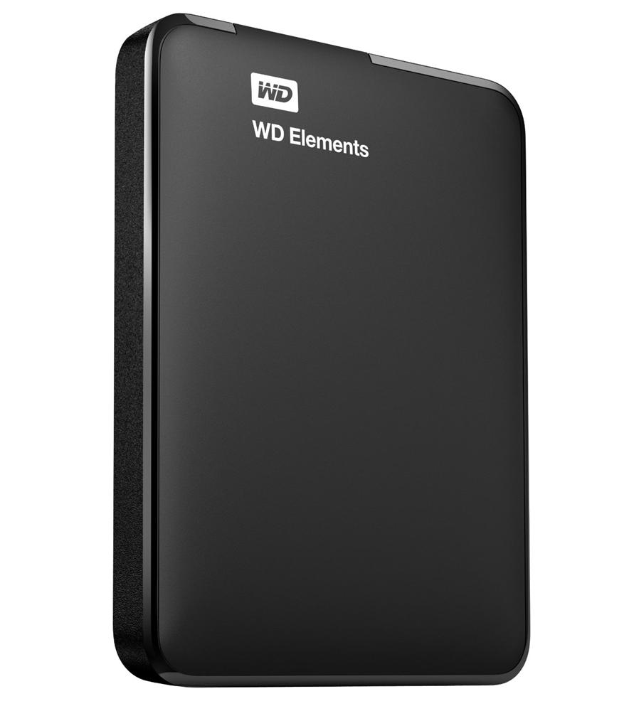 WD Elements 2TB USB Portable Hard Drive