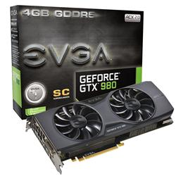 EVGA GeForce GTX 980 Superclocked ACX 2.0 4GB Graphics Card 04G-P4-2983-KR