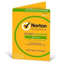 Norton Security Standard 2017 1 User 1 Year PC Mac