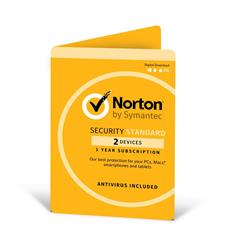 Symantec Norton Security Standard OEM 1 Yr 2 Devs