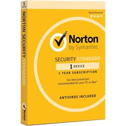Norton Security Standard 3 1 Device 1 Year Retail For PC and Mac