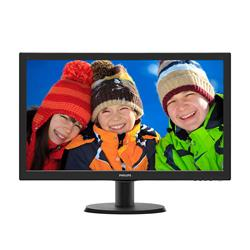 "Philips 243V5QHABA 23.6"" Full HD LED Monitor"