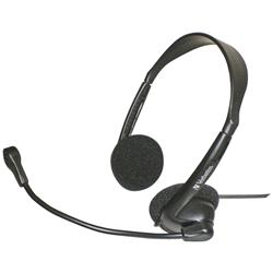 Verbatim Stereo Overhead Headset with Microphone