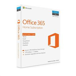 Microsoft Office 365 Home Subscription 1 Year