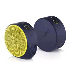 Logitech X100 Mobile Wireless Speakers  Purple and Yellow 984-000378