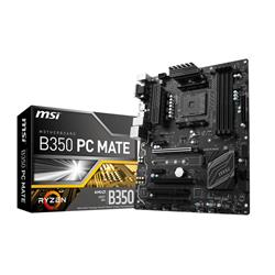 MSI B350-PC-MATE AM4 ATX AMD Ryzen Motherboard