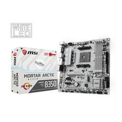 MSI B350M MORTAR ARTIC AM4 M ATX Motherboard