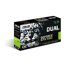 ASUS Dual GeForce GTX 1060 6GB OC Graphics Card