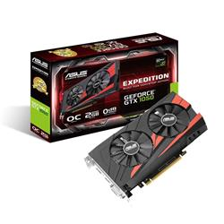 Asus Expedition GeForce GTX 1050 OC 2GB GDDR5 Card