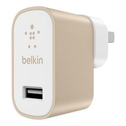 Belkin Mixit Up Metallic Home Charger 2.4A Gold
