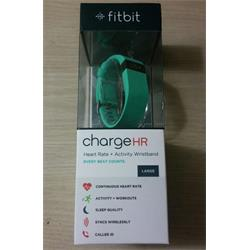 FitBit Charge HR Heart Rate Wristband (Teal,Large)