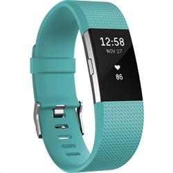 Fitbit Charge 2 Fitness Wristband Small Teal