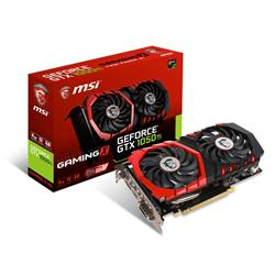 MSI GeForce GTX1050 TI GAMING X 4G Graphics Card