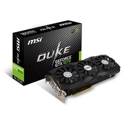 MSI Geforce GTX 1070 Duke 8GB OC Graphics Card