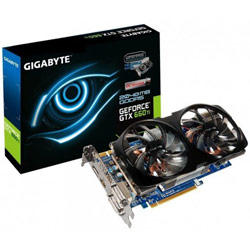 Gigabyte NVIDIA GeForce GTX 660 Ti 2GB GDDR5 Overclocked PCI-E 3.0 Video Card GV-N66TOC-2GD