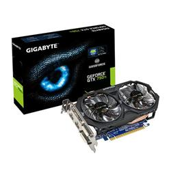 Gigabyte GeForce GTX 750 Ti OC 2GB GV-N75TOC-2GI