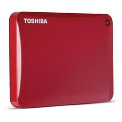 Toshiba Canvio Connect II 2TB Red Portable HDD