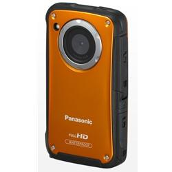 Panasonic HM-TA20GN-D Orange Underwater Mobile Digital Camera 8MP