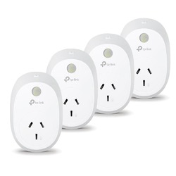 TP-Link HS110 Wi-Fi Smart Plug + Energy Monitoring x4