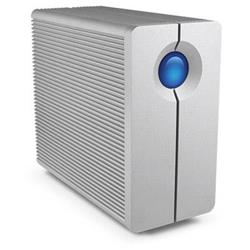 LaCie 8TB 2big Quadra FireWire & USB3.0 Desktop