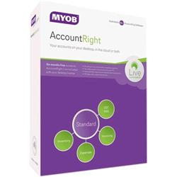 MYOB AccountRight Standard For Windows PC Accounting MA-FUL-AU