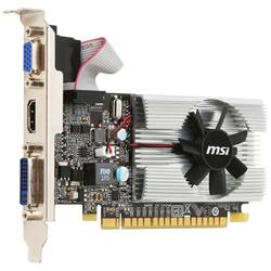 MSI Geforce GT210 Graphics Card 1GB GDDR3 64bit PCIE2.0 D-SUB DVI HDMI LP ATX