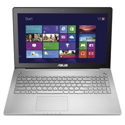 Asus N550JK Intel i7-4710HQ 15.6 inch Full HD Laptops Silver N550JK-CN451H