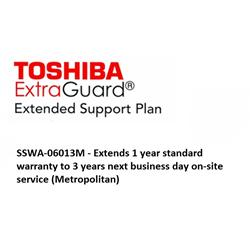Toshiba 3 Year NBD On-Site Service ANZ Metro