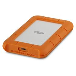 LaCie Rugged USB-C 2TB USB 3.1 TYPE C Mobile Portable Drive