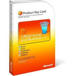Microsoft Office Home & Business 2010 Product Key Card (PKC) T5D-00295