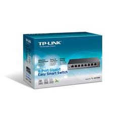 TP-Link TL-SG108E 8-Port Gigabit Easy Smart Switch