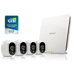 Netgear Arlo VMS3430 Home Security 4 x Cams & Base