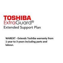 Toshiba 2nd and 3rd Year Extended Warranty