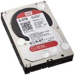 "WD Red 6TB SATA 3.5"" Internal Hard Drive WD60EFRX (4 Pack)"
