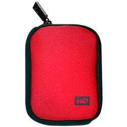 WD My Passport Hard Drive Carrying Case Red