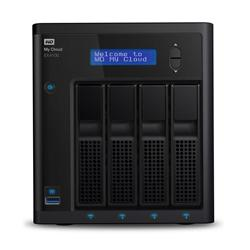 WD My Cloud Expert EX4100 0TB 4-Bay NAS