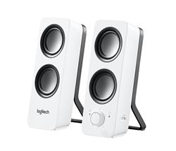 Logitech z200 Multimedia Speakers Snow White 980-000851  $39