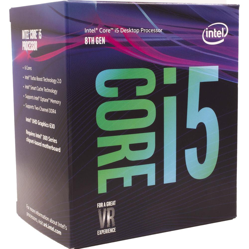 Intel CoffeeLake Core i5-8500 6 Cores 4.1 GHz LGA1151 CL CPU