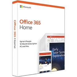 Microsoft Office 365 Home 6 Users 1 Year Subscription