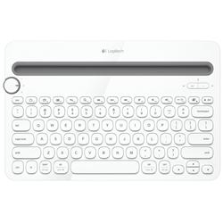 Logitech K480 Multi Device Wireless White Keyboard